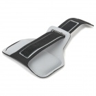 Stylish Sports Gym Neoprene Armband Case for Samsung Galaxy S4 i9500 / S3 i9300 - Grey + Black
