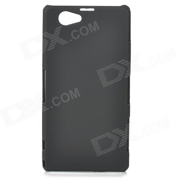 Protective Frosted ABS Back Case for Sony Xperia Z1 Mini / Xperia Z1S / Xperia Z1 f - Black