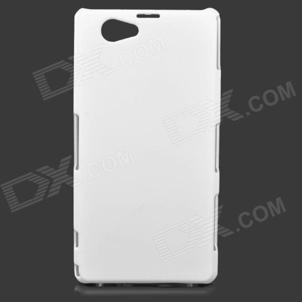 Protective Frosted ABS Back Case for Sony Xperia Z1 Mini / Xperia Z1S / Xperia Z1 f / D5503 - White