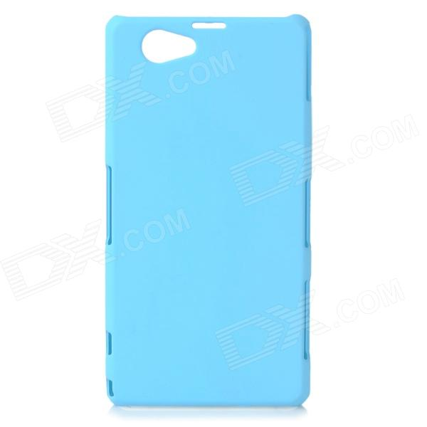 Protective Frosted ABS Back Case for Sony Xperia Z1 Mini / Xperia Z1S / Xperia Z1 f - Light Blue