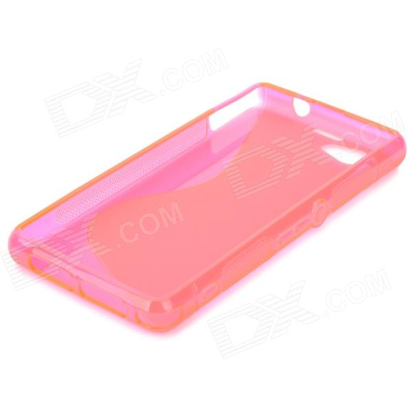 """Anti-Slip """"S"""" Style Protective TPU Case for Sony Xperia Z1 ..."""