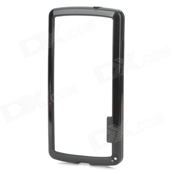 все цены на Protective Plastic Bumper Frame Case for LG Nexus 5 - Black онлайн