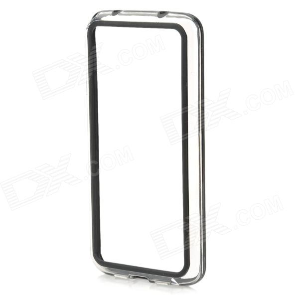 все цены на  S-What Protective PC + TPU Bumper Frame Case for LG G2 - Black + Transparent  онлайн