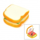Neuartige Sandwich-Art Notizbuch / Notizblock / Scratch Pad - Light Yellow (120 Blatt)