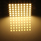 T10 / BA9S / Festoon 8W 400lm 48*SMD 5050 Warm White Car Lamp (12V)
