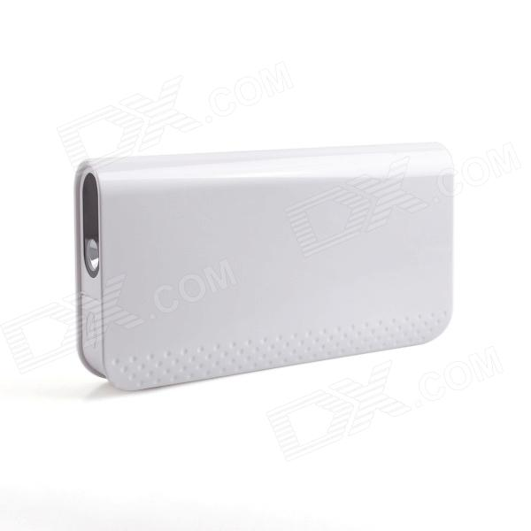 IWOI WP500 5-in-1 12000mAh Multifunctional Mobile Power for Car / Laptop / Digital Devices - White