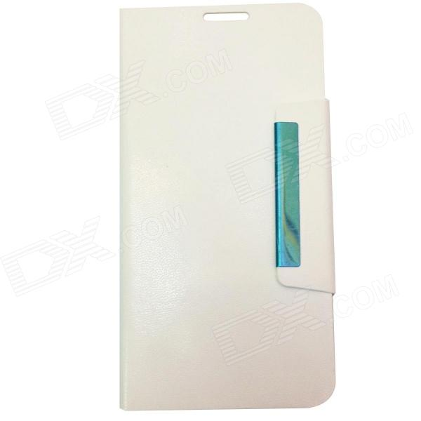 UTime Protective PU Leather Flip Open Case Cover for Discovery U100 / U100S - White