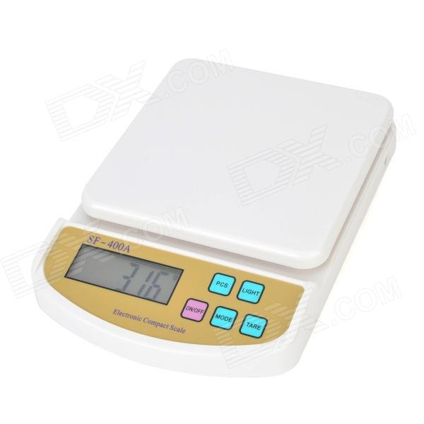 WLXY WL-SF400A 2.4'' LCD Kitchen Digital Scale (7kg / 1g / 2 x AAA) 50g 0 001g digital electronic scale 0 001g precision touch lcd digital jewelry diamond scale laboratory counting weight balance