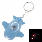 Spacecraft Model LED Keychain - Blue (3 x AG10)