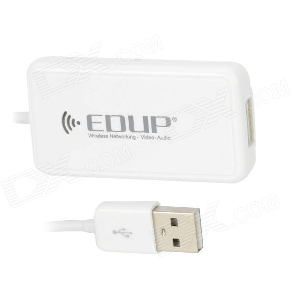EDUP EP-3701 USB 2.0 Mobile HDD Wireless Wifi Disk - White