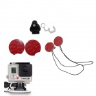 BZ101 Surfboard Mount Set for GoPro Hero 3 / 3+ / SJ4000 - Red + White