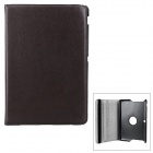 Protective Rotary PU Case w/ Stand for ASUS MeMO Pad 10 / ME102A - Brown