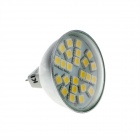 KindFire MR16 GX5.3 4W 300lm 3500K 24 x SMD 5050 LED Warm White Light Spotlight Bulb w/ Cover (12V)