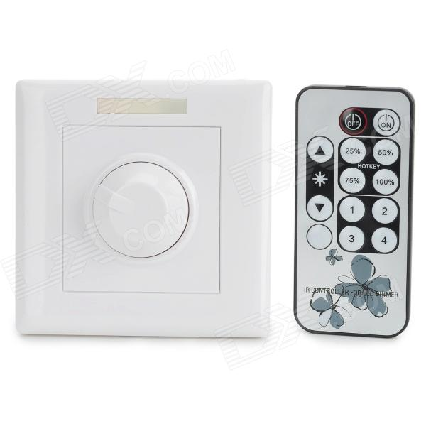 ETH-8008 200W 1-CH Infrared Remote Control Intelligent Dimmer (AC 90~240V)
