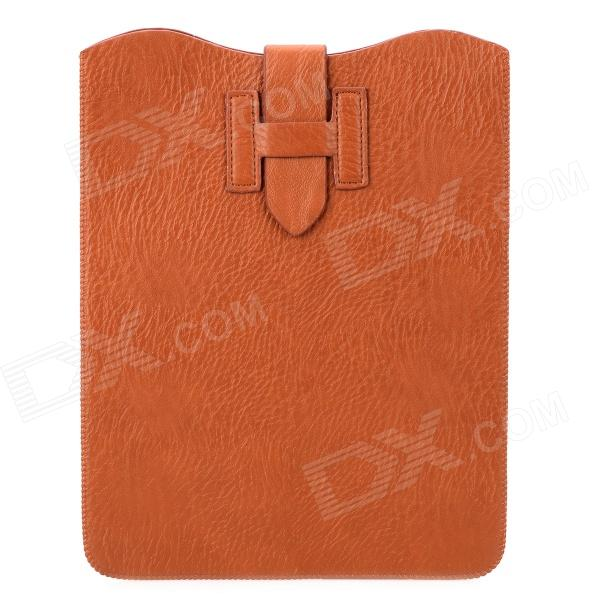 Lychee Pattern Protective PU Leather 10