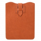 "Lychee Pattern Protective PU Leather 10"" Case Sleeve - Brown"