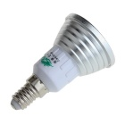 Zweihnder E14 3W 240lm LED RGB Light Lamp Bulb w/ Remote Controller / Memory Function - (85~265V)