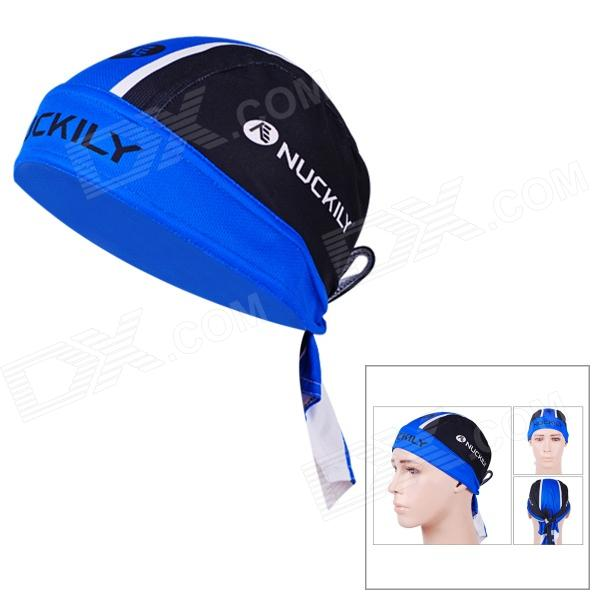 NUCKILY BD3544 Outdoor Sports Cycling Quick Dry Headscarf - Blue + Black + Multi-Colored