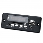 "Navo 1.5"" Car MP3 Player Module w/ TF / USB / FM / LED - Black + Green"
