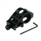 ACCU 20mm Aluminum Alloy Gun Barrel Laser / Flashlight Mount with Hex Wrench - Black