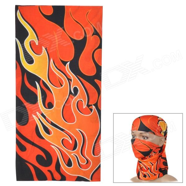 ROSWHEEL 45493-12 Outdoor Multi-Function Head Scarf - Orange + Red