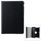 Protective Rotary PU Case w/ Stand for ASUS MeMO Pad 10 / ME102A - Black