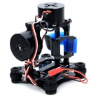 X1099 CNC Brushless Two-Axis PTZ Kit for GOPRO Hero  2 / 3 / 3+ - Black