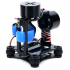 Kit X1099 CNC Brushless Two-Axis PTZ para GoPro Hero 2/3/3 + - Preto