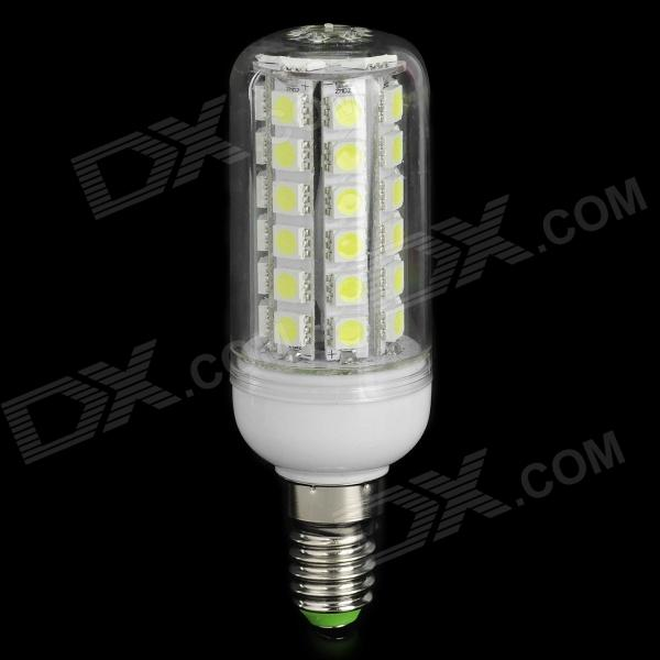 ly e14 9w 230lm 6500k 48 smd 5050 led cold white light bulb 220v free shipping dealextreme. Black Bedroom Furniture Sets. Home Design Ideas