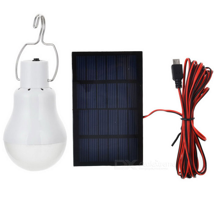 0.3W Solar Powered Energy-saving Bulb (6V)