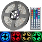 JRLED 72W 4500lm 300-SMD 5050 LED RGB Light Strip w/ 44-Key Controller (12V / 5m)