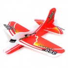 DIY Foam 360 Degree Flying Back Aircraft Model Toy - Red + White