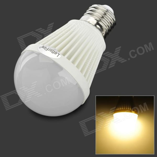 LetterFire G-OO7 E27 7W 300lm 3000K 30-SMD 2835 LED Warm White Light Bulb (AC 85~265V) honsco e12 5w 400lm 84 smd 2835 led 3000k warm white light frosted cover corn bulb ac 85 265v
