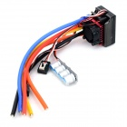 120A R/C Car Two-Way Brushless Electronic Speed Governor - Black + Red