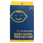 Stylife k23 Waterproof Baby Transparent Navel Sticker - Yellow + Blue (10 PCS)