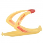 CoolChange 16007 Bike Plastic Water Bottle Holder - Yellow + Red