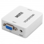 VGA till HDMI Video Converter - vit + silver