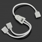 JRLED 1 a 2 abril-Pin Conector hembra de cable para 3528/5050 RGB LED Strip