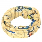 ROSWHEEL 45493-12 Outdoor Multi-Function Head Scarf - Yellow