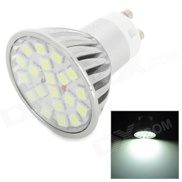 WALANGTING GU10 3W 6500K 20-SMD 5050 LED White Light Lamp (AC 100~240V)