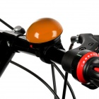UFO Shape Bicycle Electronic Horn Bell - Orange (2 x R1P)