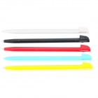 Plastic Tablet Touch Stylus Pens for Wii U - Red + Black + Multicolored (5 PCS)