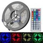 JRLED 36W 2500lm 150-SMD 5050 LED RGB Light Strip w/ 44 Keys Remote Controller (12V / 5m)