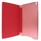 ENKAY ENK-3344 3-Fold PU Leather Case Stand w/ Auto Sleep Cover for Retina Ipad MINI - Red