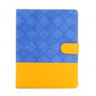 Protective PU Leather Case Cover w/ Stand for Ipad AIR - Blue + Yellow