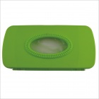 ABS Hang up Car Tissue Paper Holder Box Case - Green