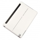 Angibabe 3-Fold Protective PU Leather Case Cover Stand w/ Auto Sleep for Retina Ipad MINI - White