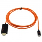 Slimport to HDMI Adapter for Google Nexus 4 / 7, LG Optimus G pro, Fujitsu Arrows Tab + More -Orange