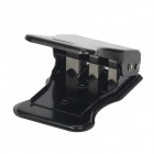 3-Port Nano SIM Cutter for Iphone 4 / 4s / 5 / Samsung - Black