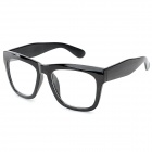 PC Lens Plain Glass Spectacles - Black